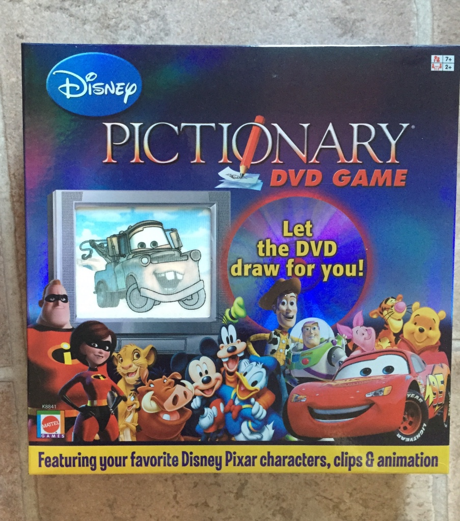 disney pictionary dvd game instructions