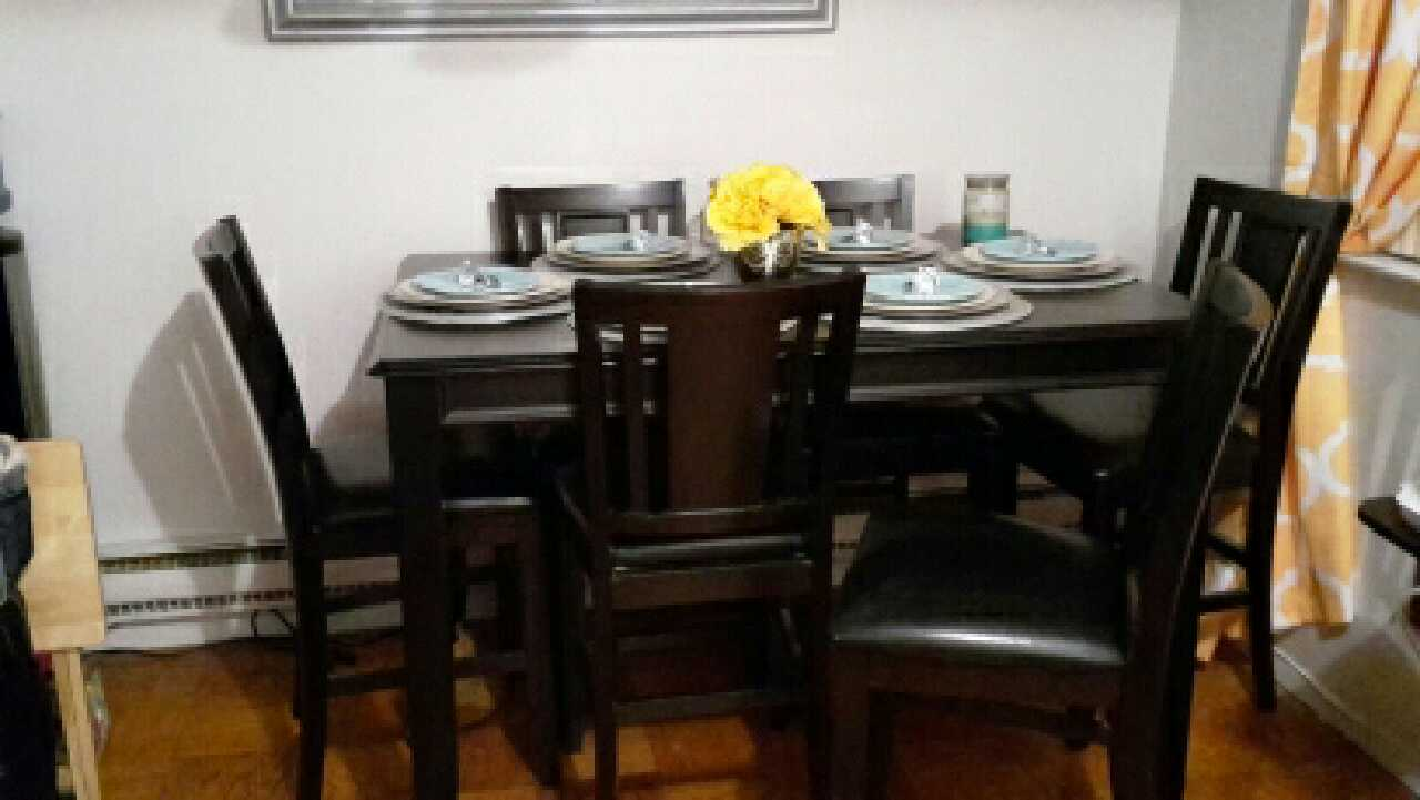 Letgo Ashley Furniture Dining Table In Alpine Nj