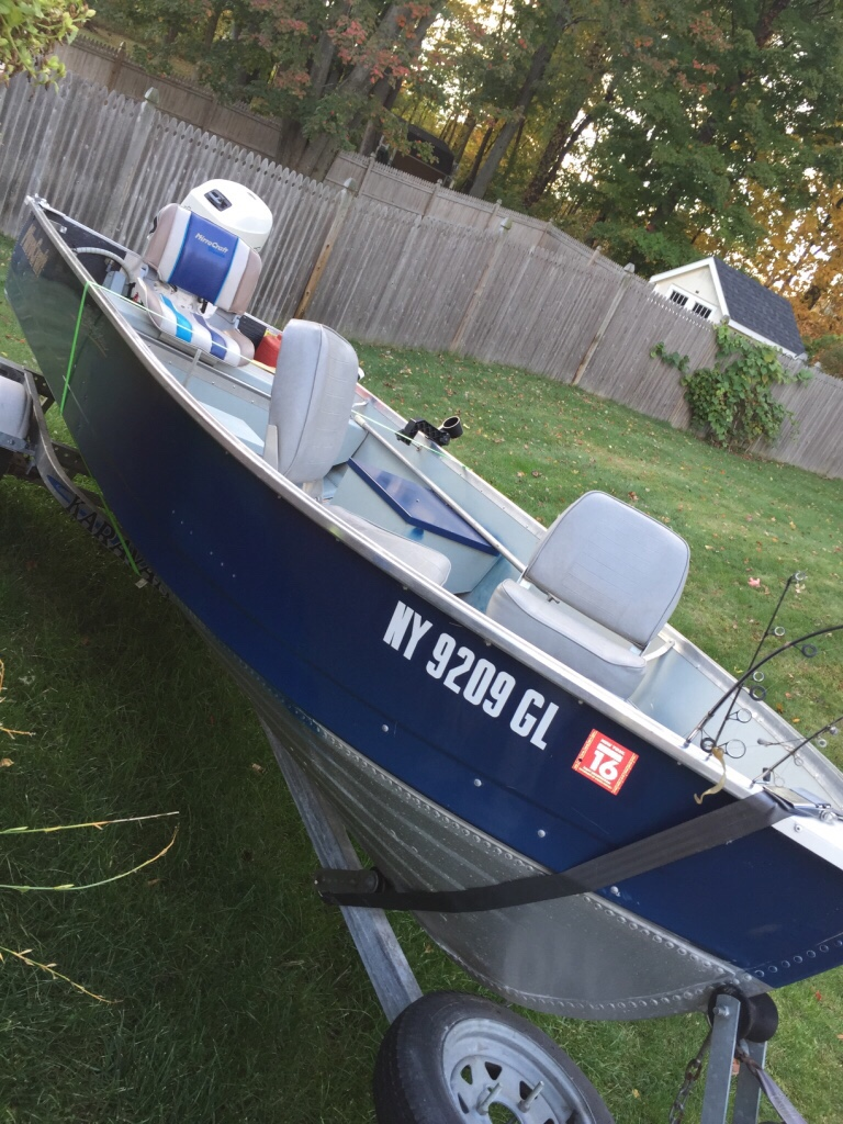 Letgo boat motor trailer new price in waterford ny for New boat motor prices
