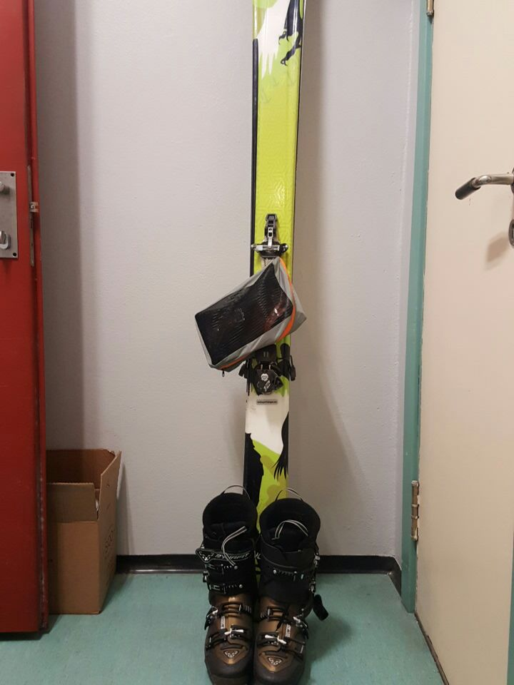 Randone ski. Black Diamond med feller lengde 1.80.