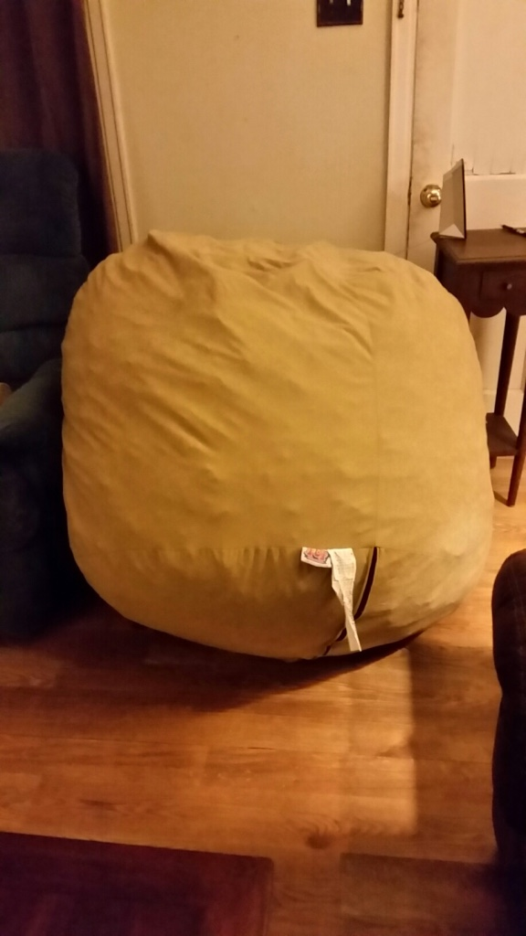 letgo large 4ft fuf beanbag chair in sibley ms