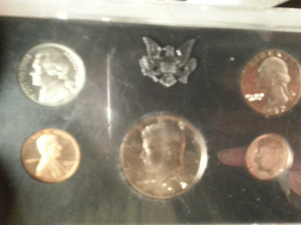 Augusta (ME) United States  city photos gallery : Description it is a proof set from 1972 1 cent 5 cent 10 cent 25 and ...