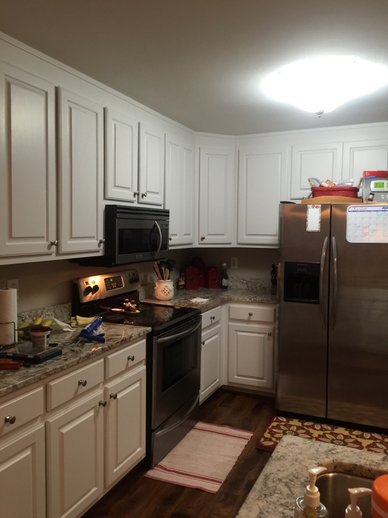 letgo kitchen cabinets repainted in buford ga