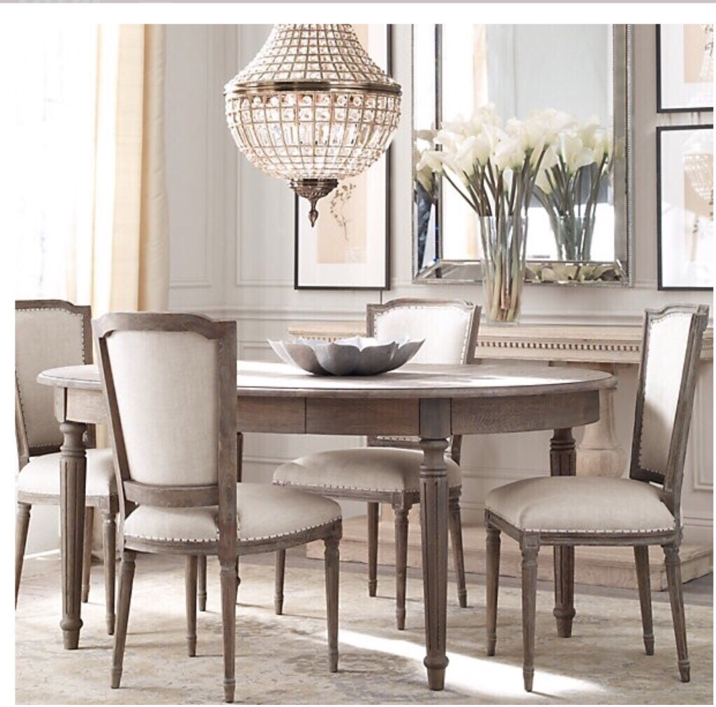 Letgo restoration hardware dining table in los angeles ca for Classic dining tables and chairs