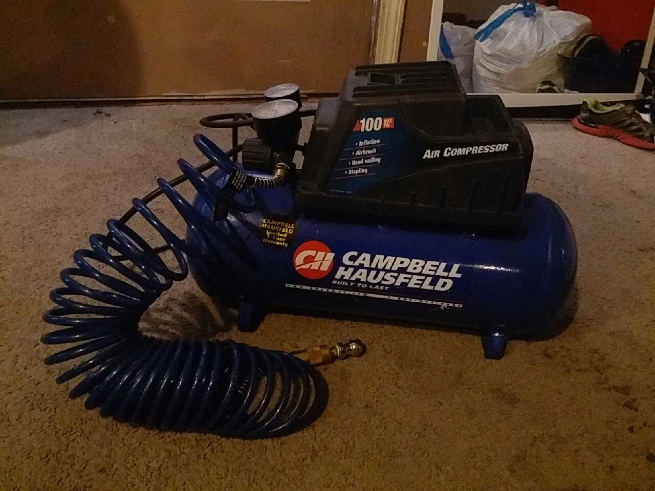Letgo Campbell Hausfeld Air Compressor In Pigeon Forge Tn