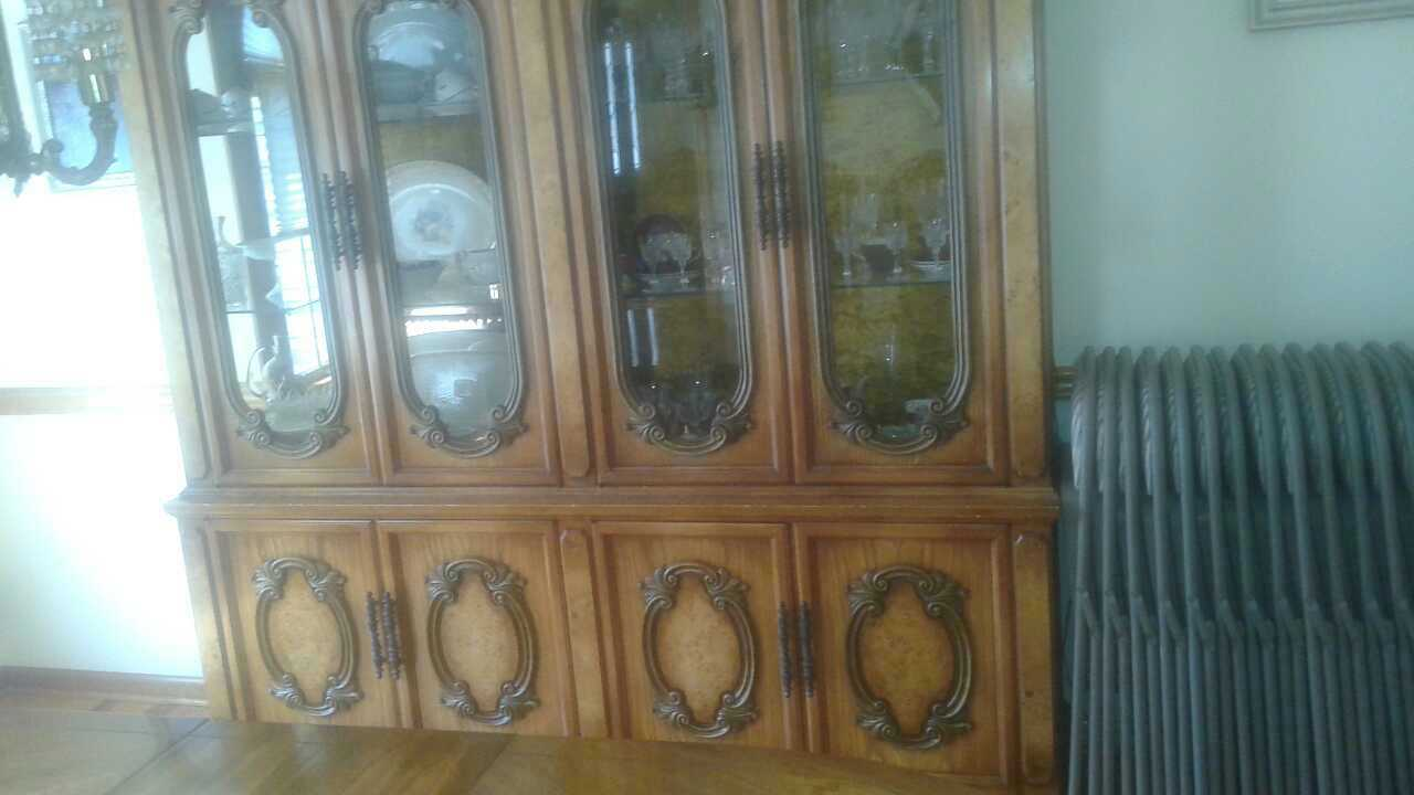 Letgo all wood formal dining room set in dover nj for All wood dining room sets