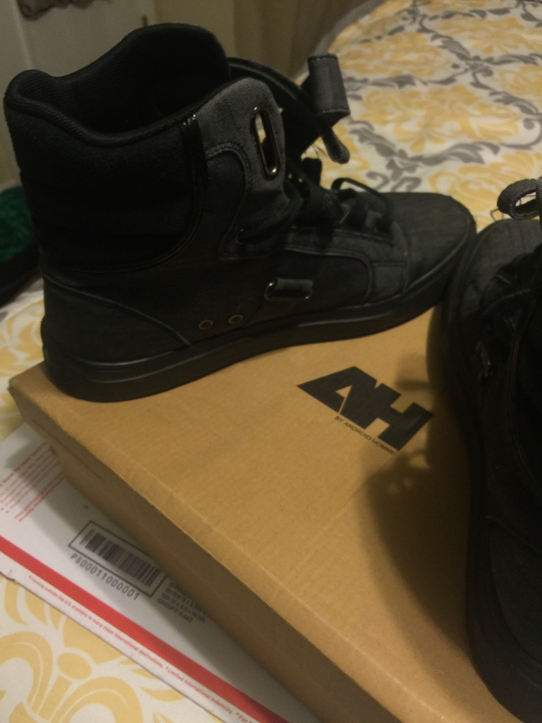 Dickson City (PA) United States  City new picture : Home Pennsylvania Dickson City Other Black 2 Strap High Top Shoes Size ...