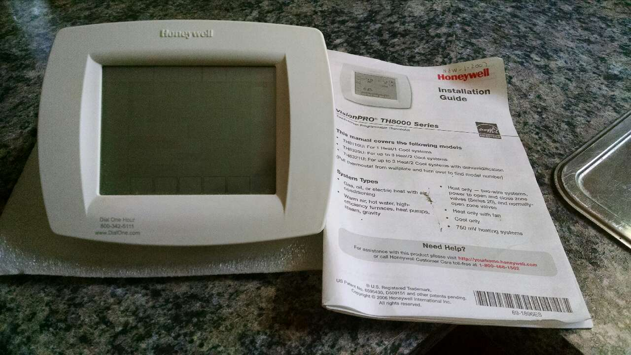 honeywell visionpro th8000 series manual