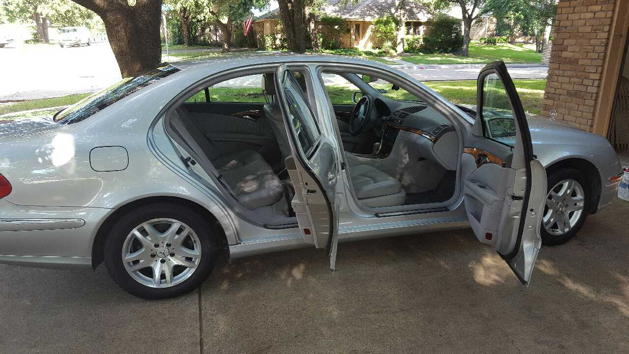 Letgo 2003 e320 mercedes benz in irving tx for Mercedes benz irving tx