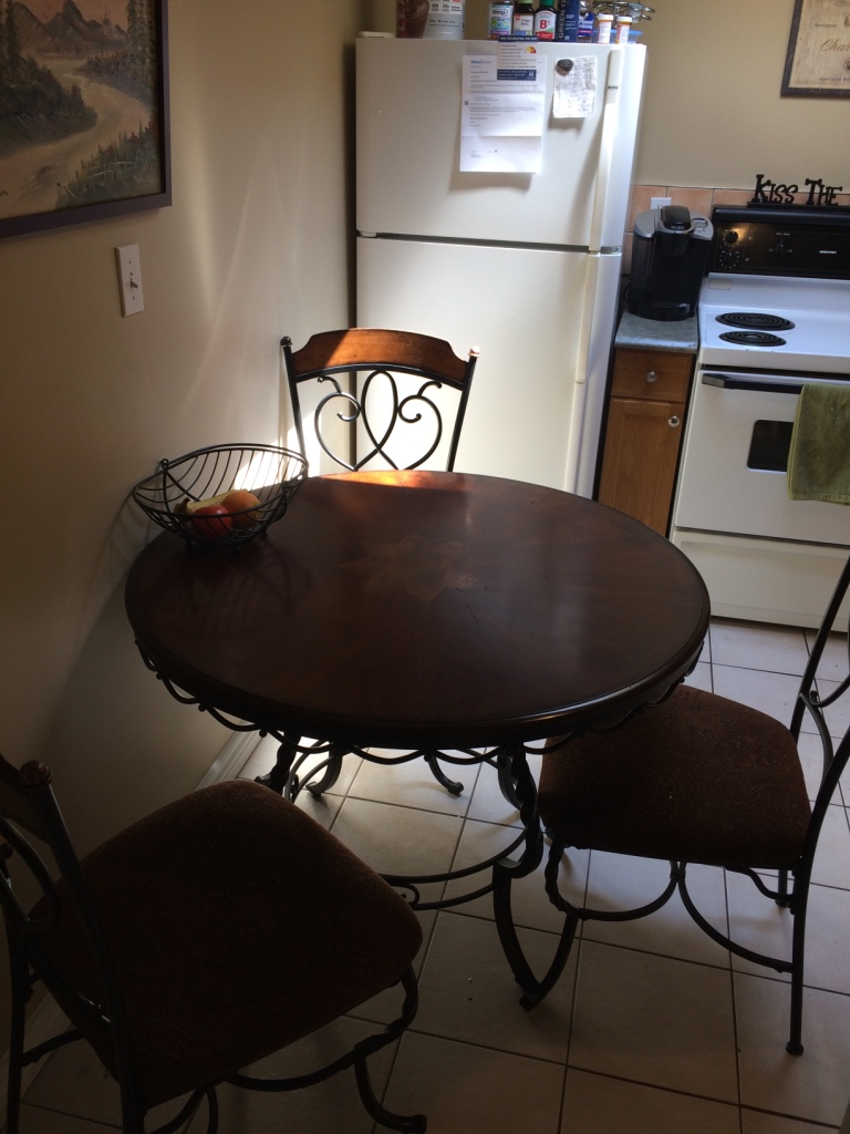 Ashley furniture dining set paid 800 in hamilton letgo for I furniture hamilton
