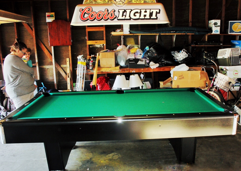 how to move a slate pool table in one piece
