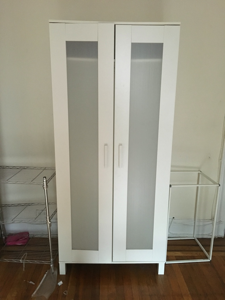 ikea hemnes 3 door wardrobe instructions