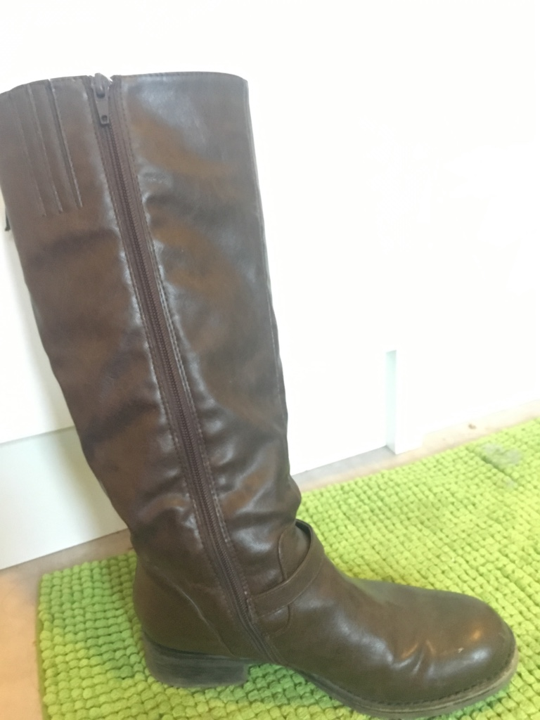 Graceland leather boots size 37