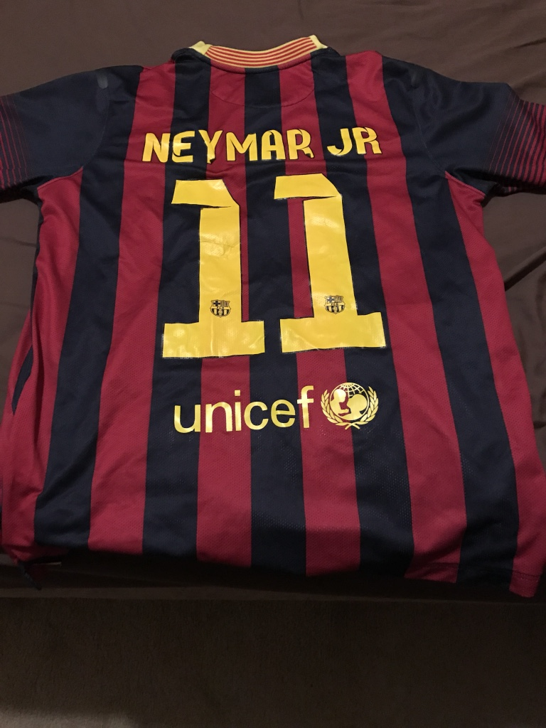 Used crib for sale atlanta - Authentic Fc Barcelona Neymar 11 Jersey W Pants