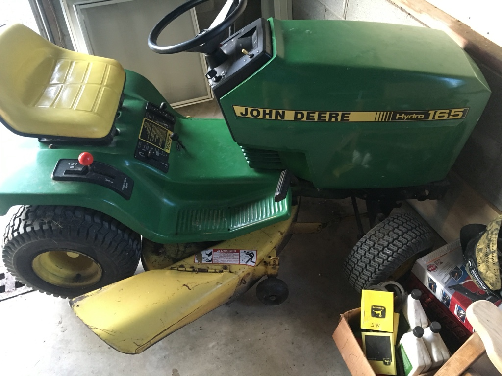 Letgo John Deere Tractor Ride On Lawnmower In Waldo Oh