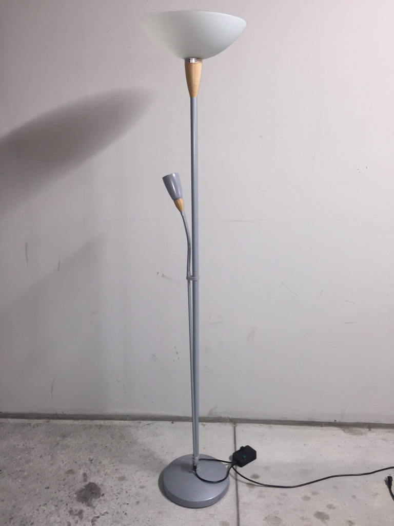 Letgo 2 light floor r in georgia state university ga for Floor reading lamp with dimmer