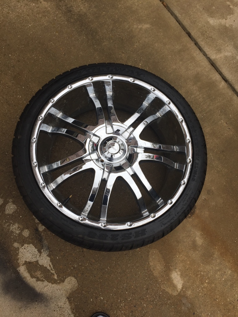 Used 30 Inch Rims : Letgo inch used rims new tire in glenn heights tx