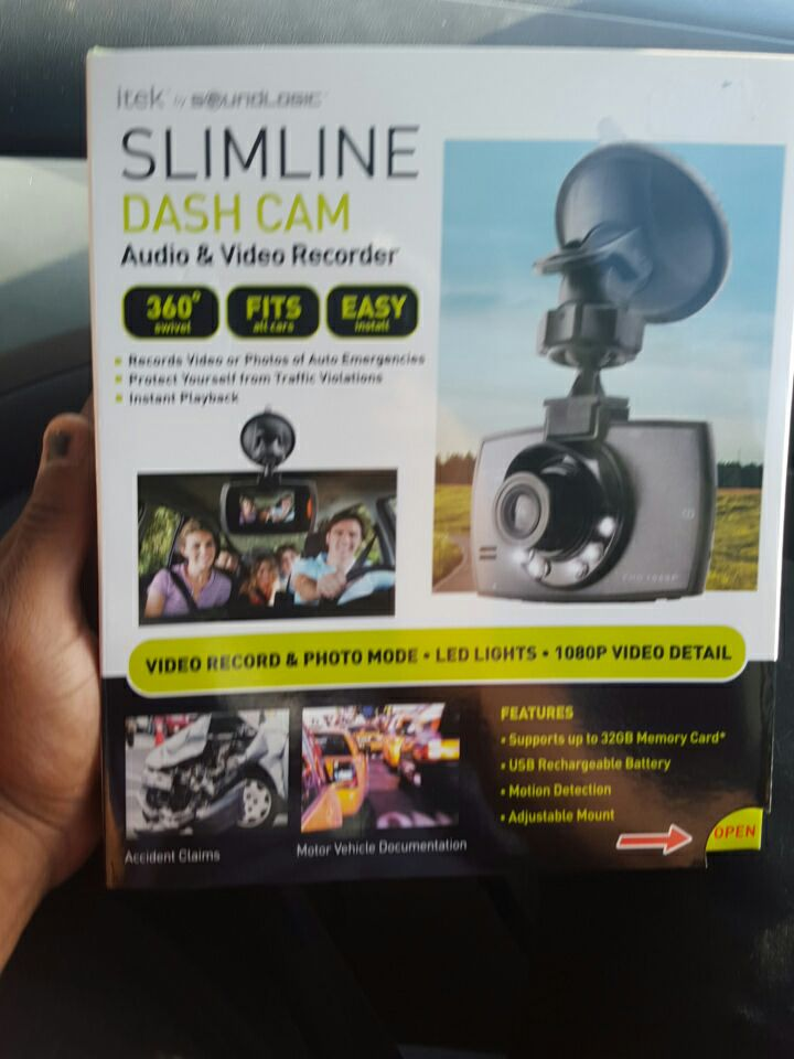itek slimline dash cam manual
