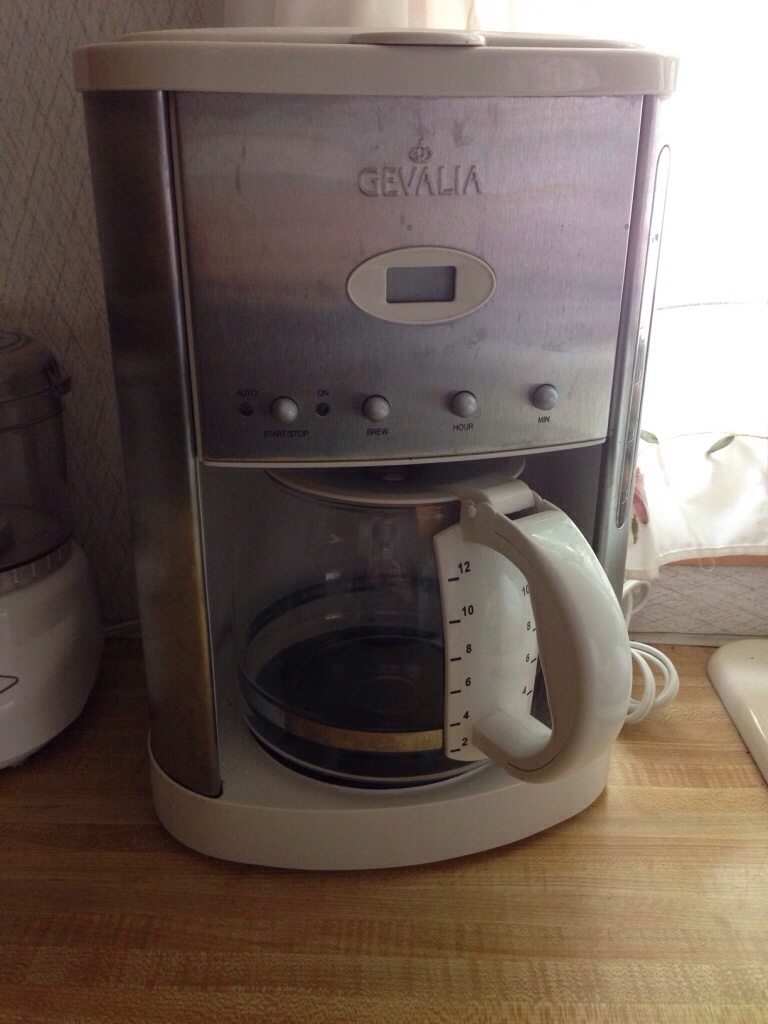 letgo - Gevalia 12 cup coffee maker in Fort Collins, CO