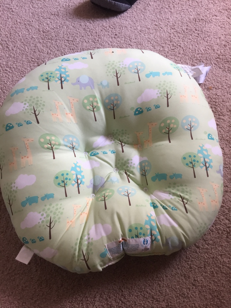 Used crib for sale houston - Green Pink And White Tree Print Round Cushion