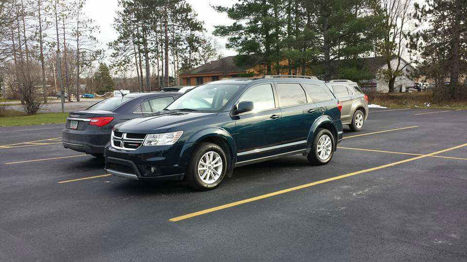 letgo 2015 dodge journey awd w 3rd row seat in hillman mi. Black Bedroom Furniture Sets. Home Design Ideas