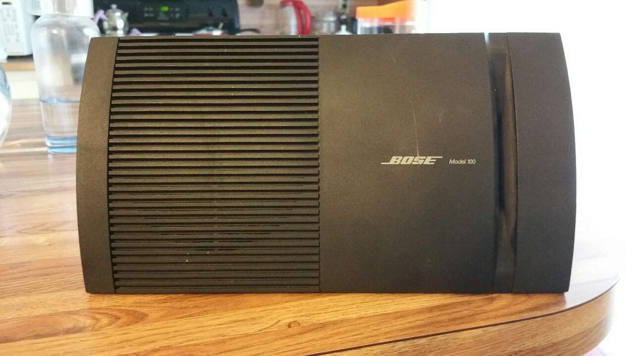 how to open bose model 100 speakers