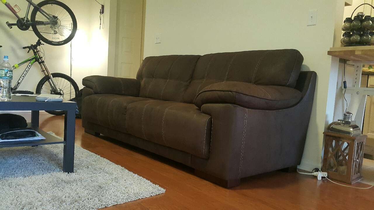 Does Raymour And Flanigan Sell Adjustable Beds : Letgo castin microfibre raymour fla in palisade nj