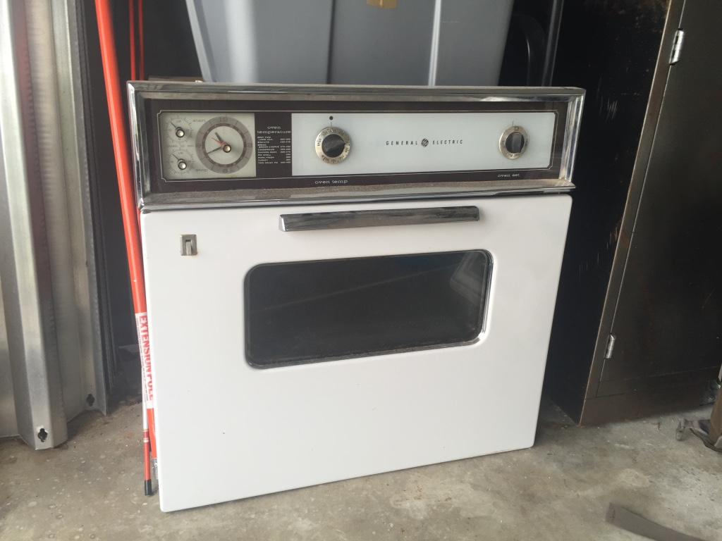 Vintage General Electric Wall Ovens ~ Letgo white and stainless steel in sea ranch lakes fl