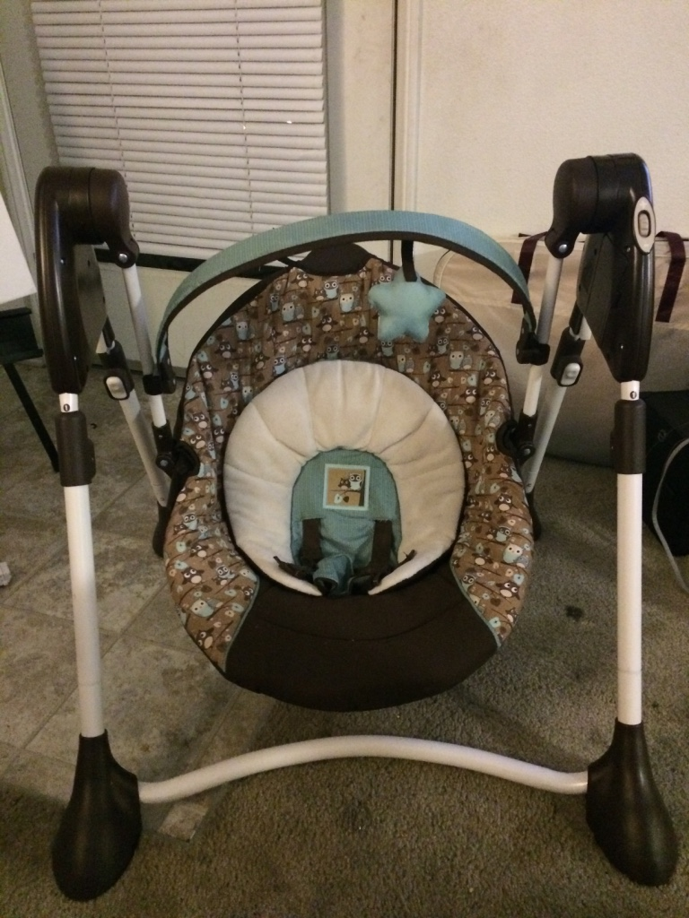 graco swing by me manual