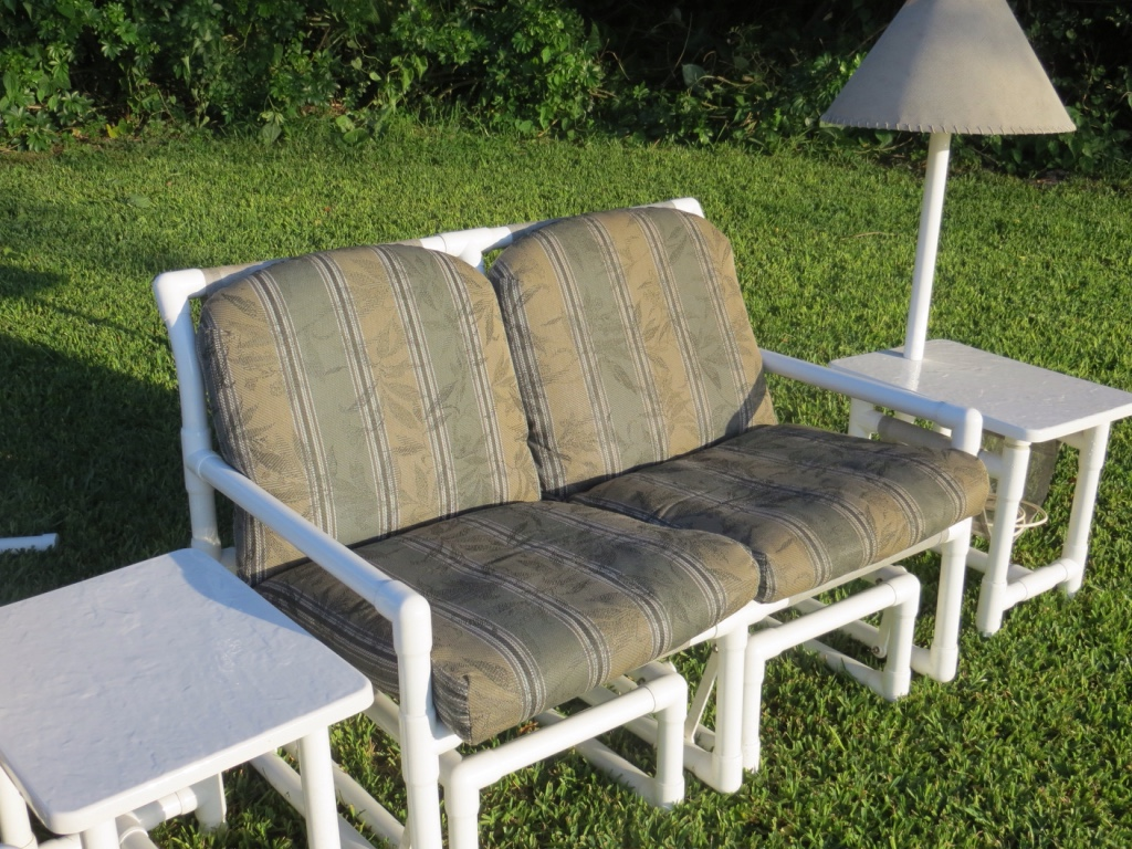 letgo pvc patio furniture in suntree fl