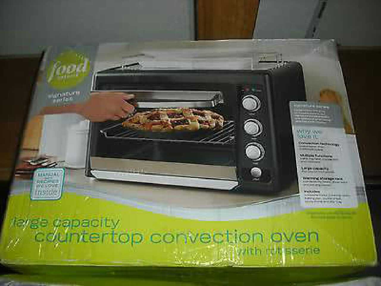 Food Network Convection Oven With Rotisserie