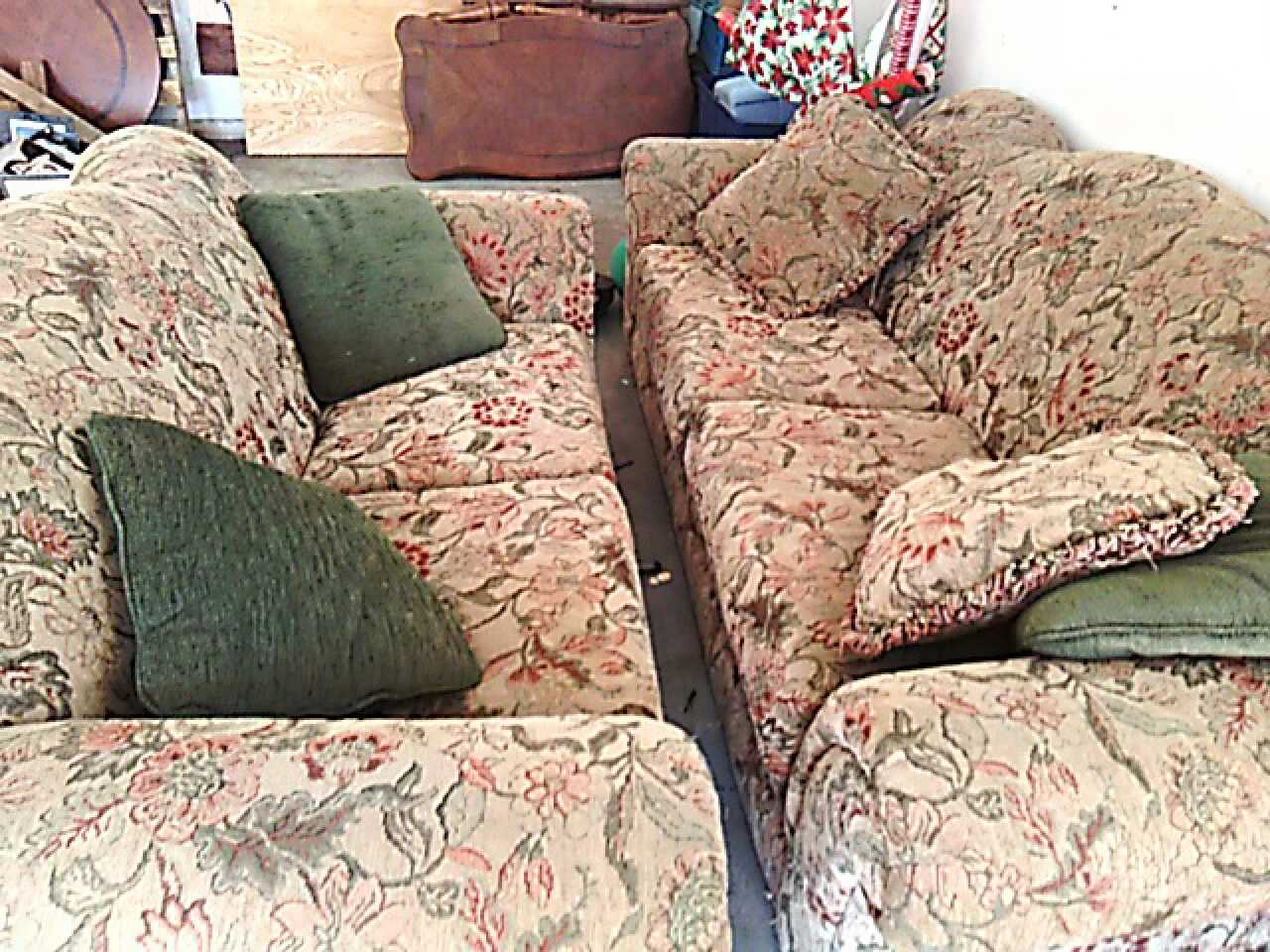 Letgo Sofa Matching Loveseat And W In Claytonville Tx