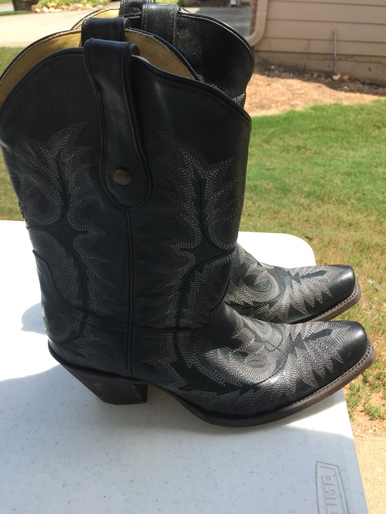 letgo s leather cowboy boots in springs ga