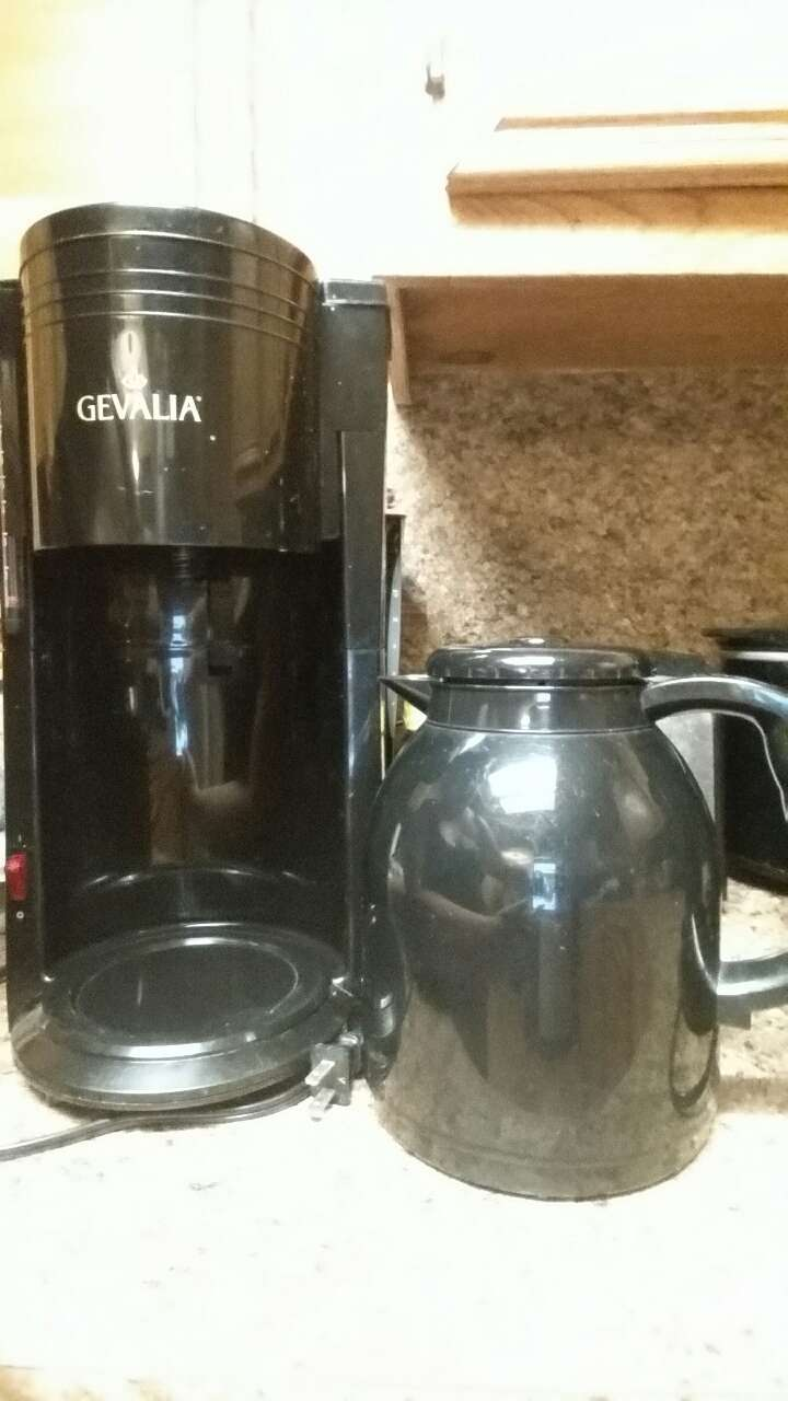 Gevalia One Cup Coffee Maker : letgo - Gevalia 8 cup Coffee Maker in San Benito, TX