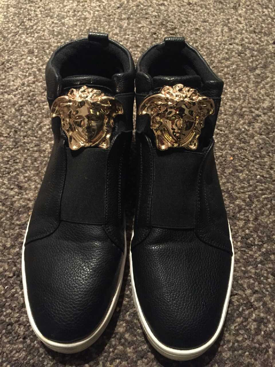 versace fashion shoes.