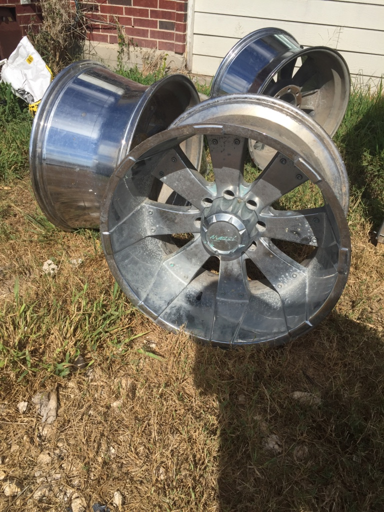 Alice (TX) United States  city photos : Description 4 22in rims took off my hummer they are chrome
