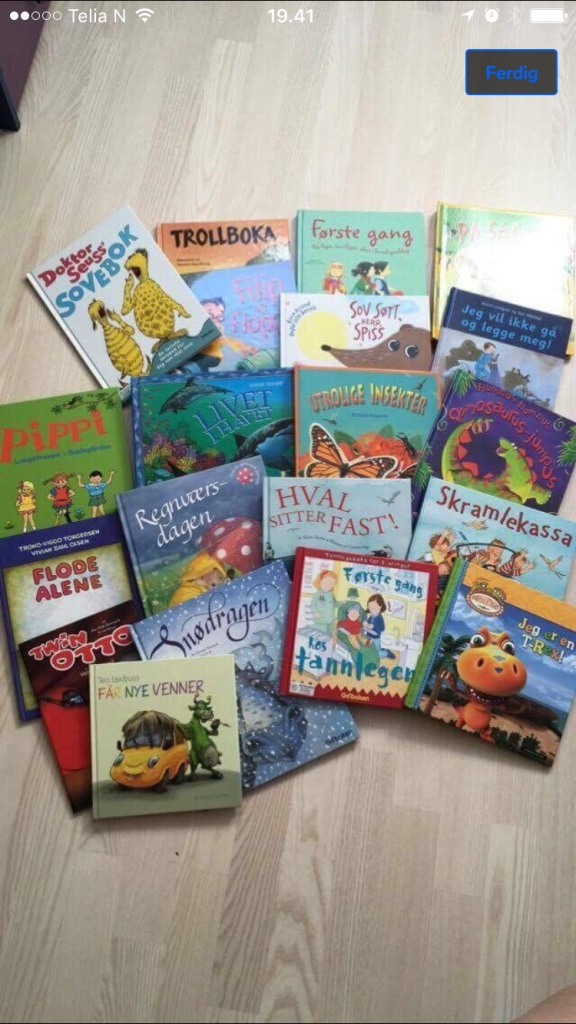 reading book lot - Rogaland