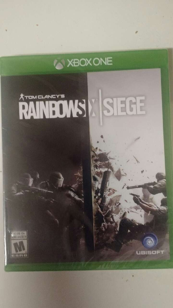 letgo rainbow six siege new xbox one in aurora co. Black Bedroom Furniture Sets. Home Design Ideas