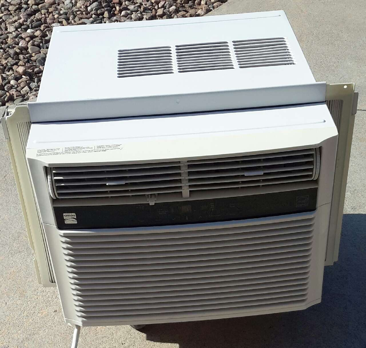 Letgo kenmore 10 000 btu room air condi in sheridan co for 15 inch wide window air conditioner