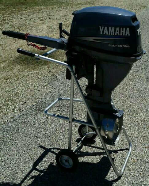 Letgo yamaha portable outboard motor in pell lake wi for Yamaha outboard parts house