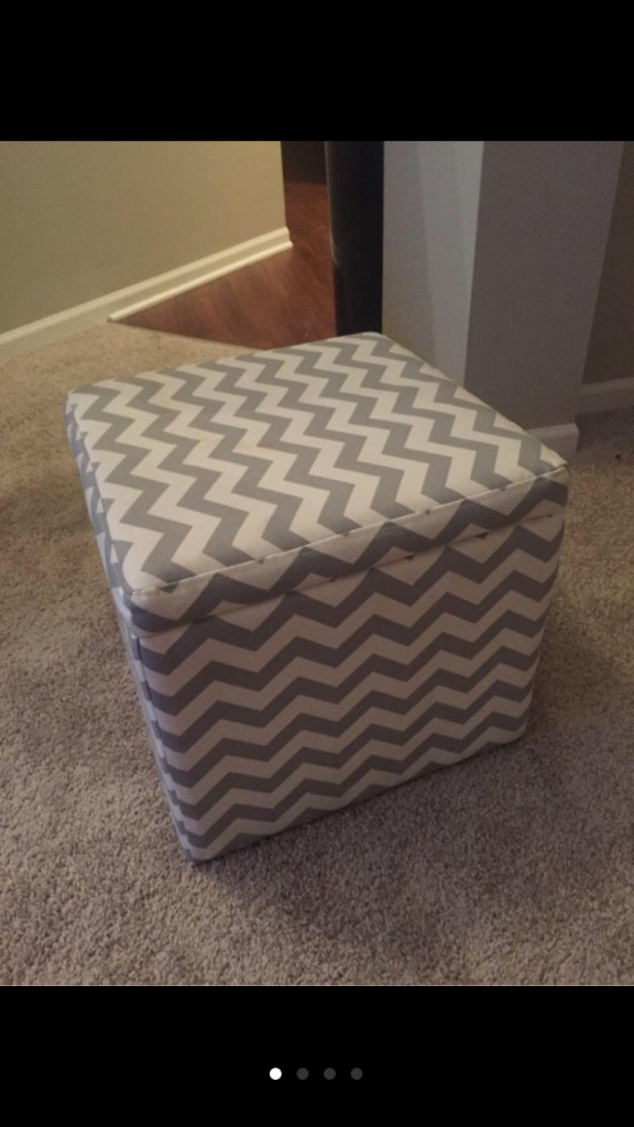 grey and white ottoman 28 images chevron storage ottoman gray and white walmart grey white