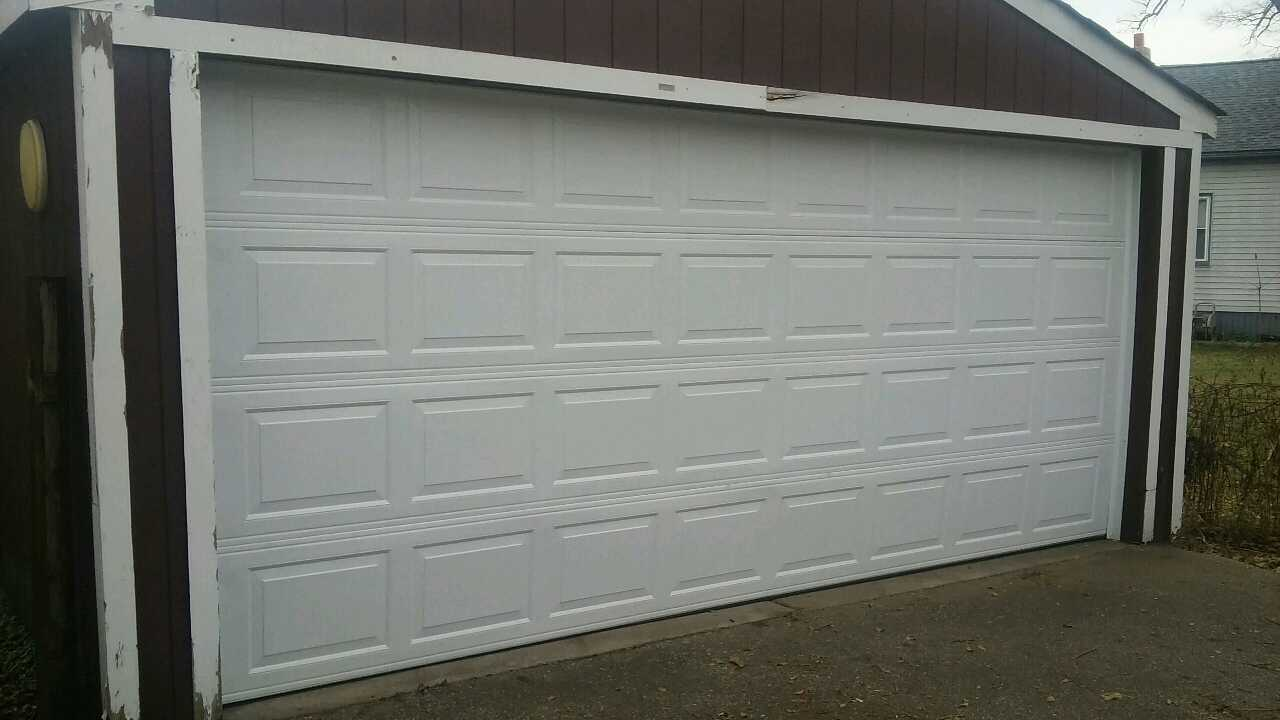 letgo 16x7 garage door installed in dearborn mi