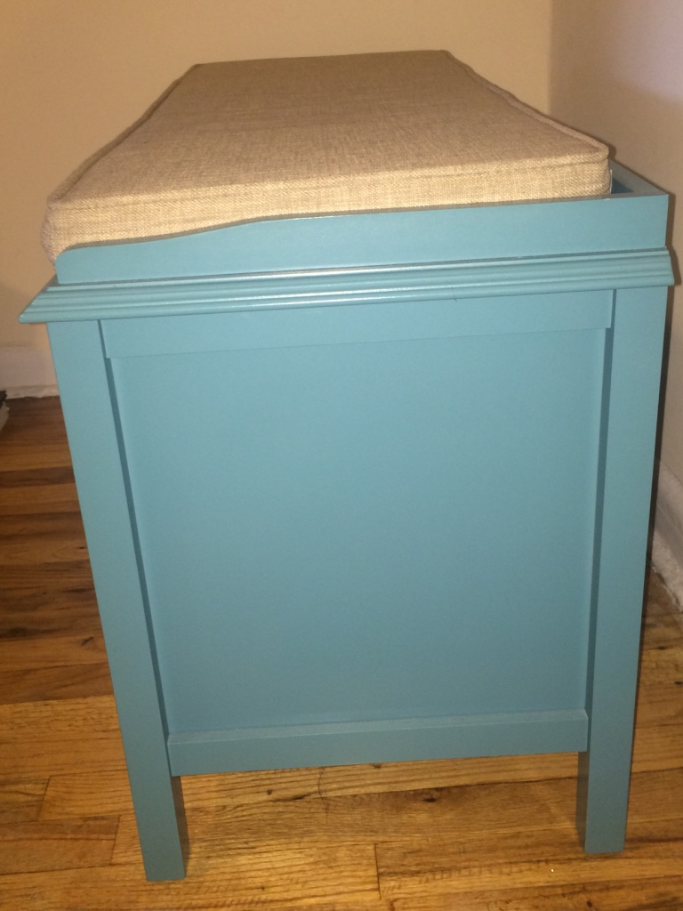 Letgo Teal Entryway Bench In Lincolnton Ny