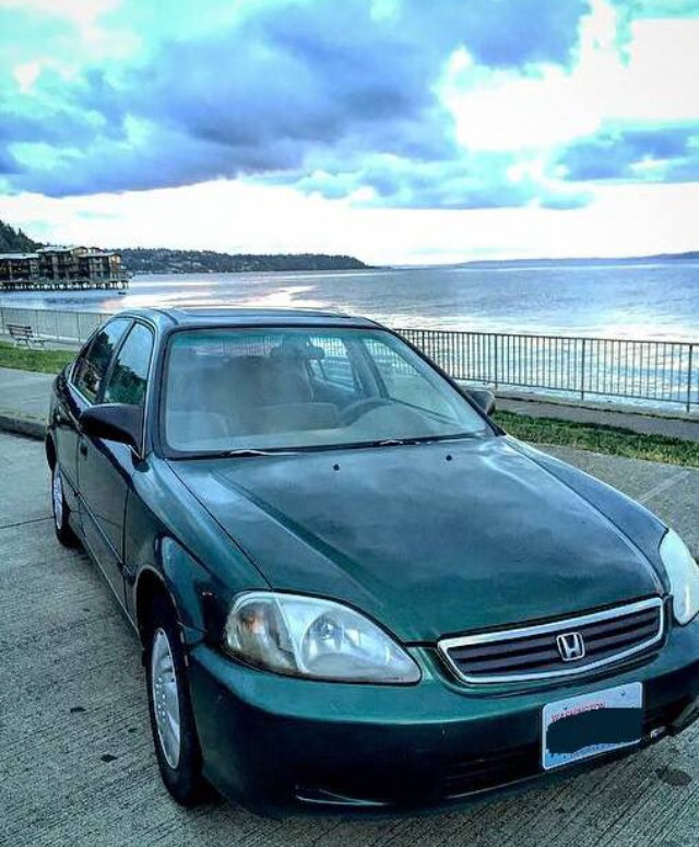 letgo 1998 honda civic ex vtec in westwood wa. Black Bedroom Furniture Sets. Home Design Ideas