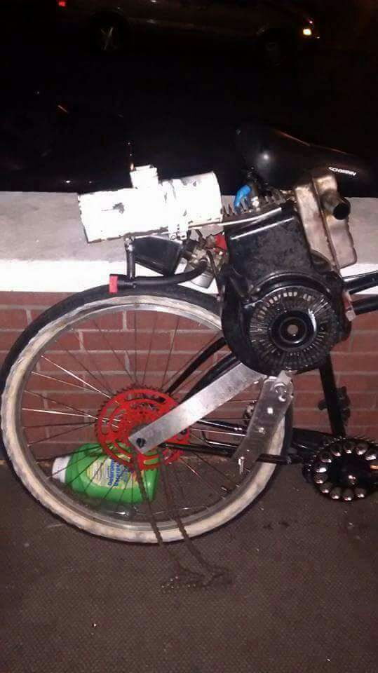 Letgo Pedal Bike With 5 Hp Snowblower Mo In Altoona Pa