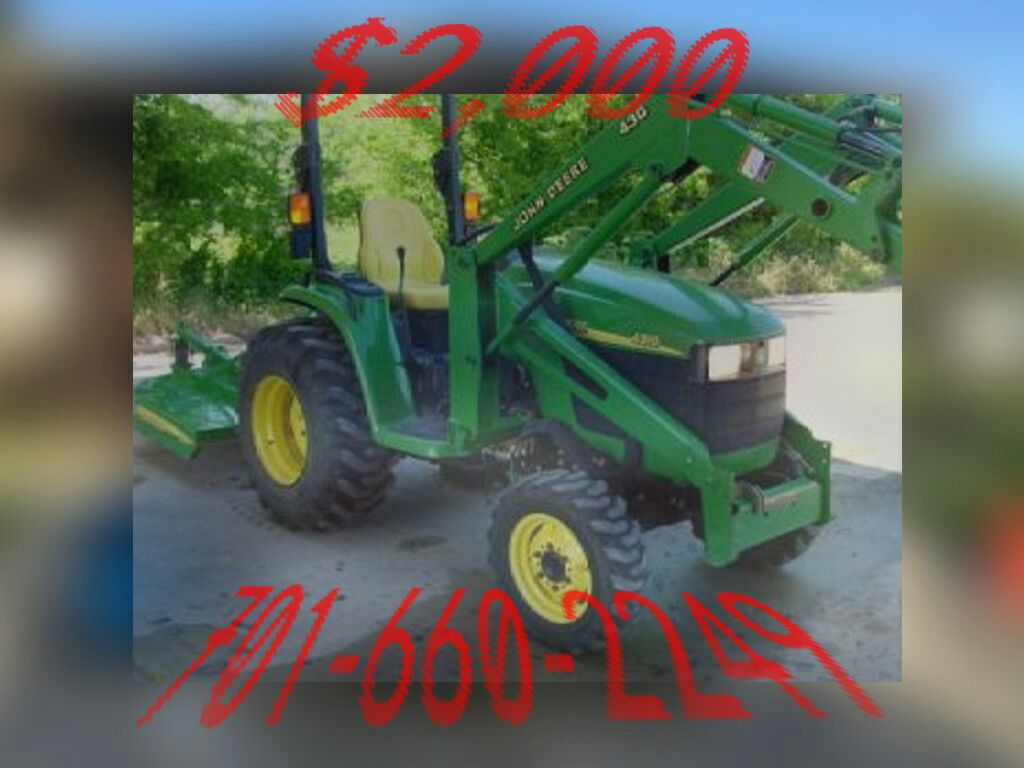 letgo 2003 john deere 4310 4x4 tractor in ville platte la. Black Bedroom Furniture Sets. Home Design Ideas