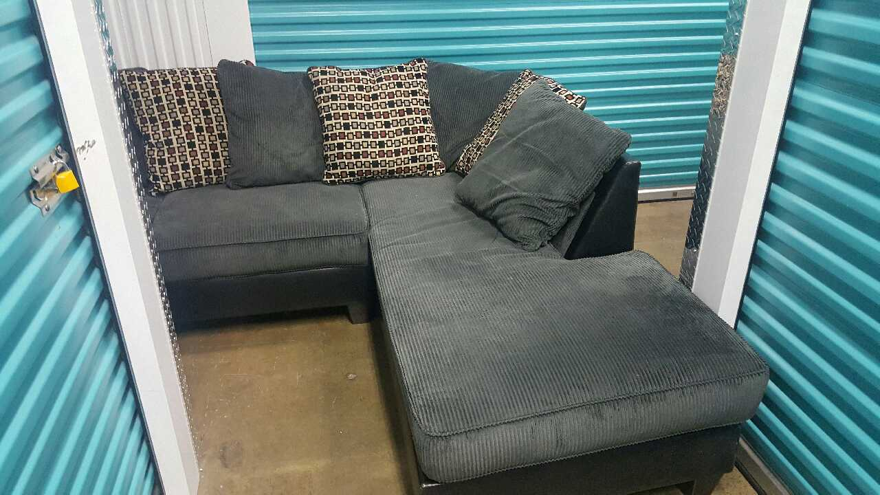 Letgo Ashley Furniture Jersey Pewter Sectional In Pala Ca