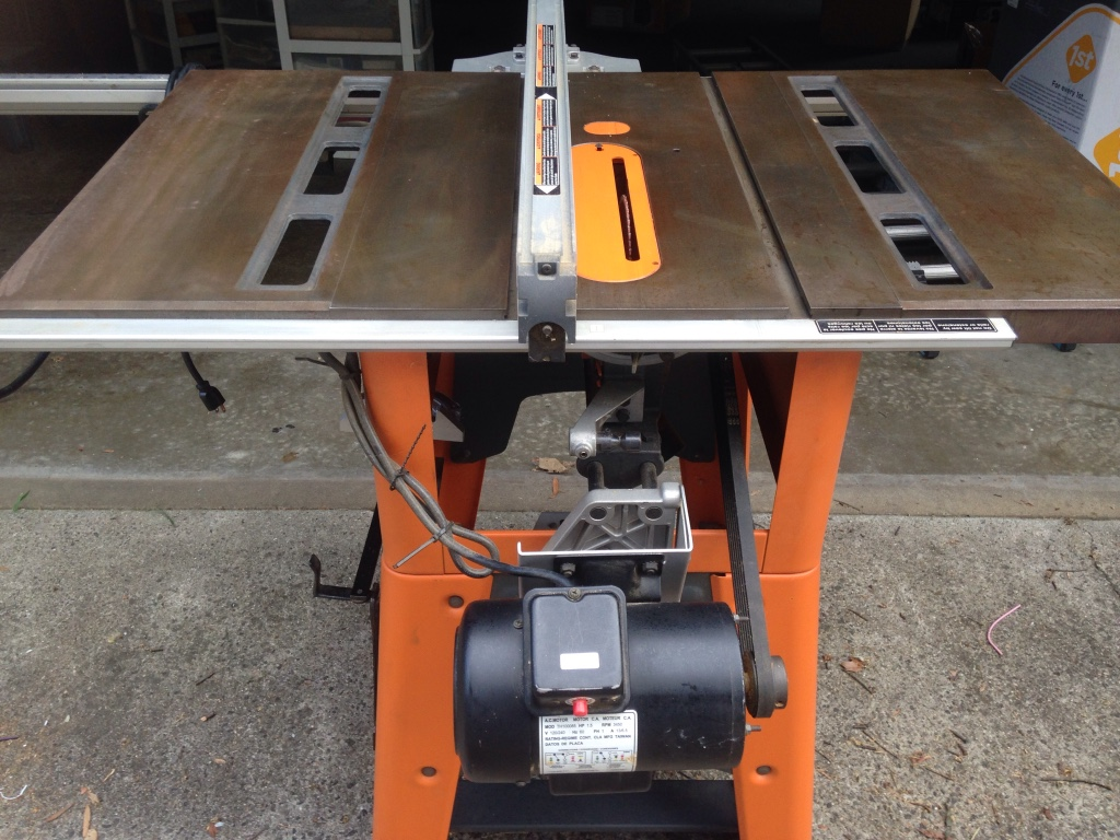 Letgo ridgid ts3650 table saw in west end va for 10 cast iron table saw ridgid