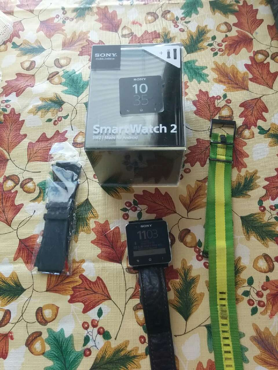 Crib for sale halifax - Black Strap Sony Smart Watch