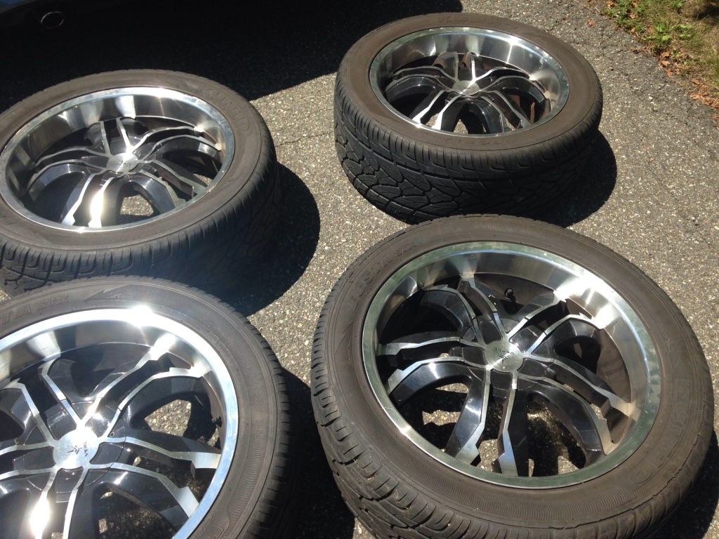 Used 30 Inch Rims : Letgo inch verde v wheels used in morristown nj